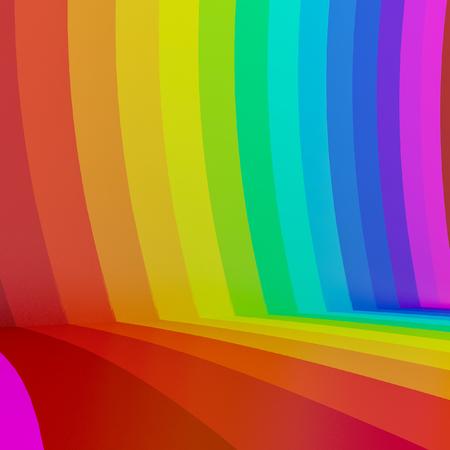 astratto sfondo colorato arcobaleno, 3d Archivio Fotografico