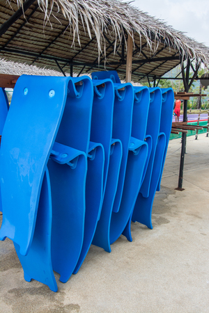 rubber sheet for play water slider  in a water park