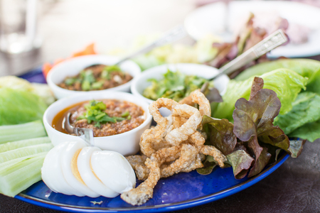 hors doeuvres of Northern traditional Thai food - Northern Thai food style