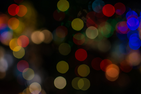 Colorfull bokeh  lights  background Stock Photo