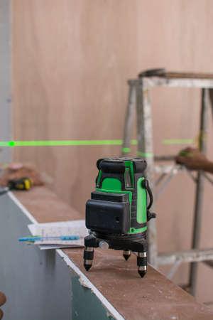 laser measurement level for construction works,