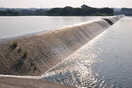 weir: Sagami River Isobe Weir Weir