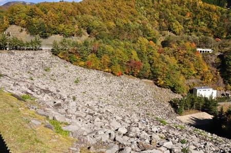 dams: Hirose dam rockfill dams