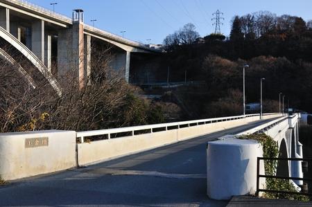 日橋 100 小倉を選択します。 写真素材 - 57367583