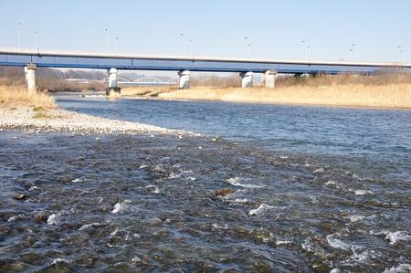 footbridges: Showa bridge over the Sagami River