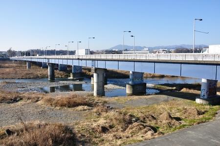 showa: Showa bridge over the Sagami River