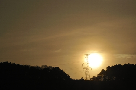 light transmission: Tower of the Sun