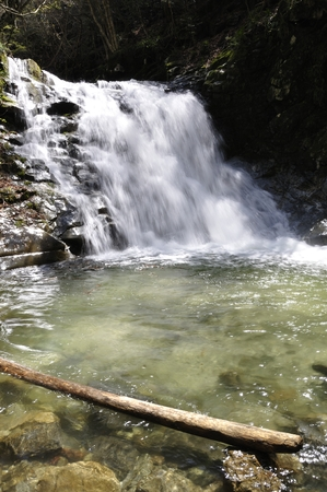 tributary: And like the waterfall