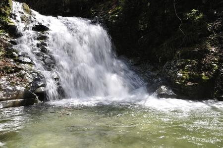 And like the waterfall