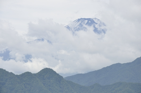 Mt. Fujis clouds