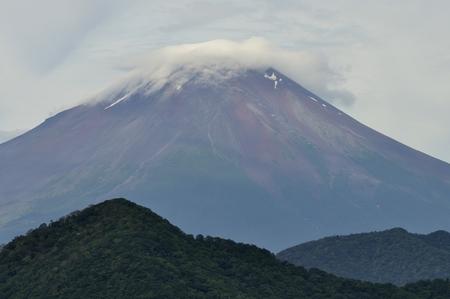 mt: Mt. Fuji from Mount ?muro Stock Photo