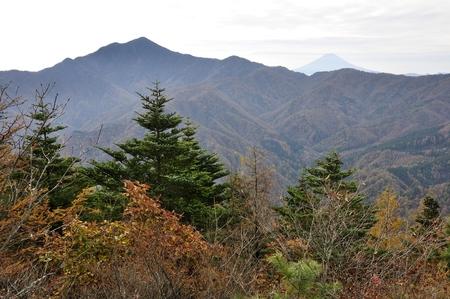 Hyakumeizan (???) mountain daibosatsurei in Japan