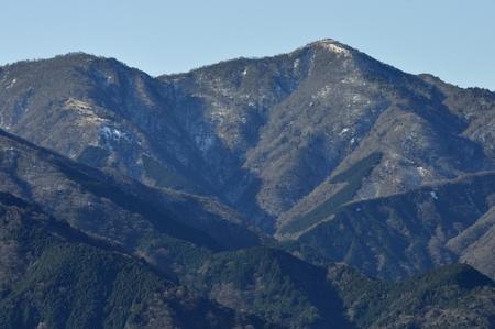 Mount Hiru in late autumn.