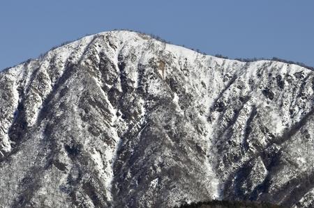 Mount Hiru in winter