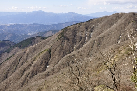 Hakone mountain Vista from the tanzawa