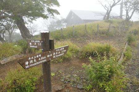 Street rain of the tanzawa flukes Summit Reklamní fotografie