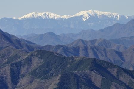 Omuro Shanxi Ling from the Southern Alps