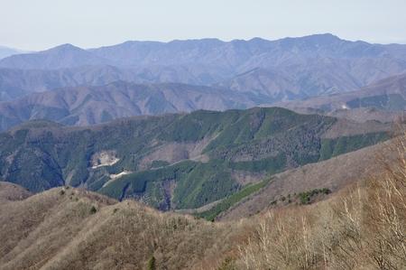 Great bodhisattva-Ridge and koganezawa-Ridge