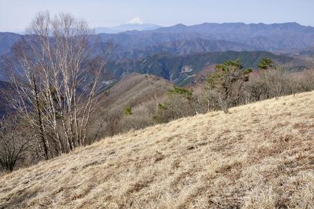 Hawk-Suyama kyat Plateau from Mt. Fuji and great bodhisattva-Ridge view 版權商用圖片