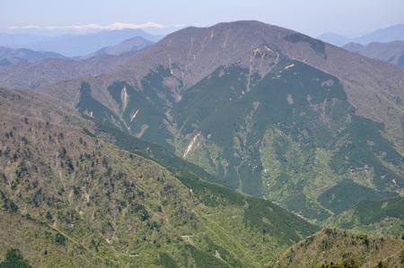 Omuro mountain spring Stock Photo