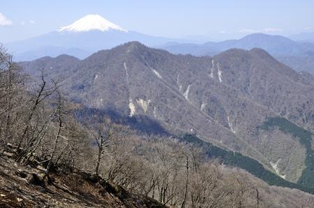 Spring mount Hiru from Mount Fuji views