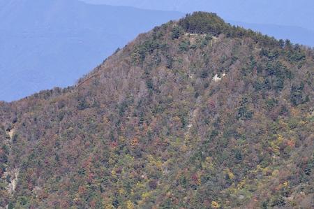 Mt. Sleeping Plain that makes autumn leaves