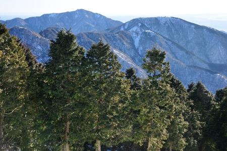 More Okura Ridge Oyama and three-Tower 写真素材
