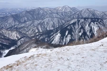 West winter views of tanzawa