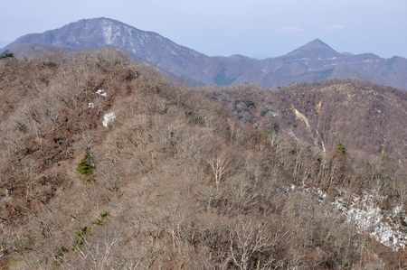 Of the misaka mountains of snow