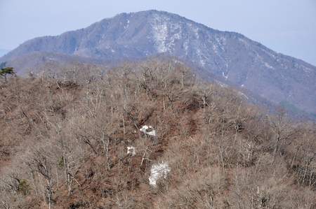 Spring mountains black Yue and Qing 8 mountain Stock Photo