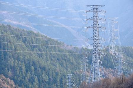 Transmission through the mountains
