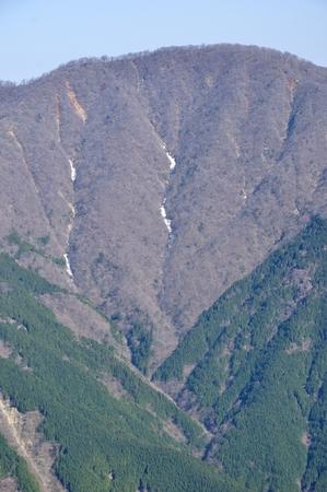 Mount ?muro Yamanashi Mt. tanzawa mountains, Central Japan
