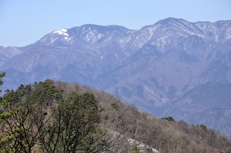 Koganezawa continuous ridges in winter 版權商用圖片