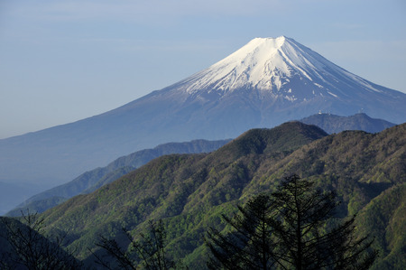 Mt. Fuji from otoge