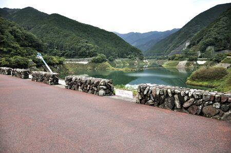 Ama Dam and Lake Meikuri