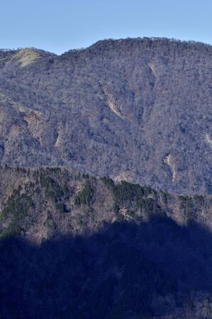 Tanzawa- The 100 Most Famous Mountains of Japan From Oyama Banco de Imagens