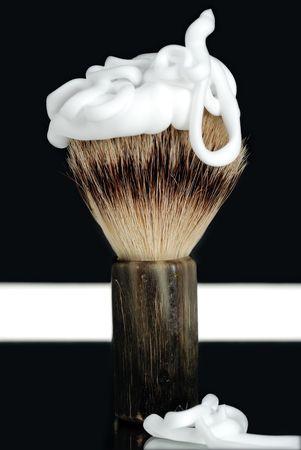 masculin: Shaving Brush and Foam
