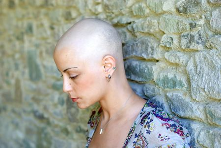 Cancer survivor is concerning about her future photo