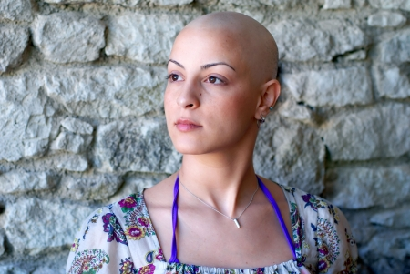 recovering: Cancer patient concerns for her future,