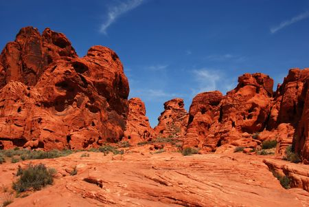 oldest: Valley of Fire, Nevadas  oldest national park