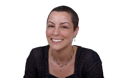 cancer patient: cancer survivor with positive attitude Stock Photo