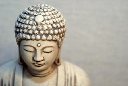 emanation: Portrait of Buddha Statue Stock Photo