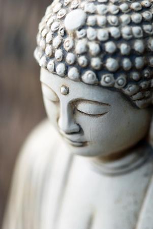 stone buddha: Portrait of stone Buddha statue