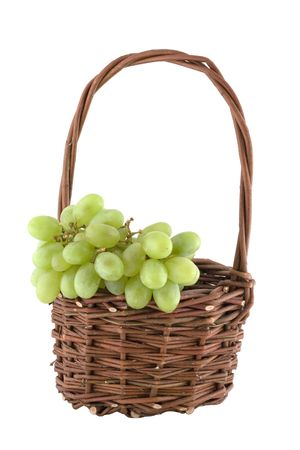 basket with grapes Stock Photo - 2947612