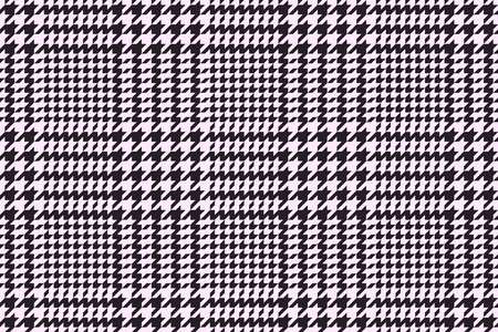 Houndstooth or Pied-de-Poule classic pattern, vector illustration Vector