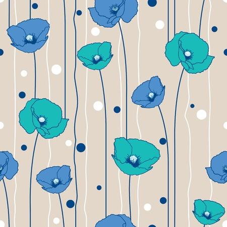 мак: Маки лишил бесшовные модели. Бежевый, голубой, морской.