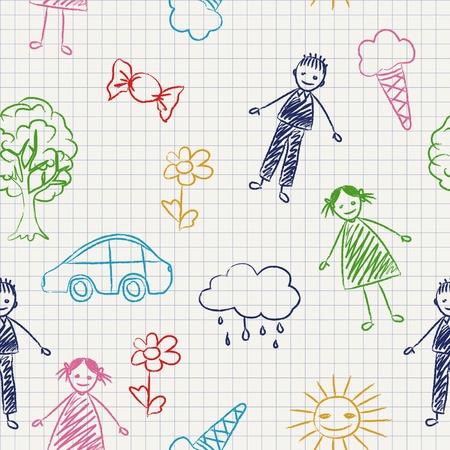 Children school background Vector
