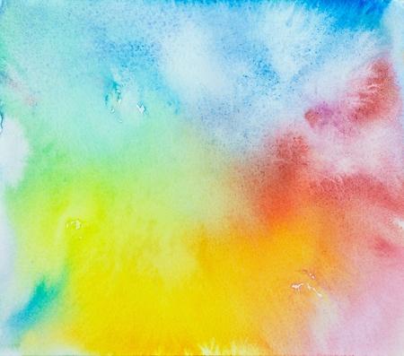 Zusammenfassung Hand gezeichnet Aquarell Hintergrund, Raster-Darstellung