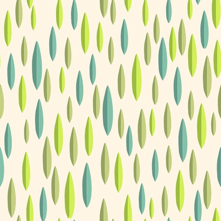 Leaves texture. Seamless pattern Stock Vector - 13201451