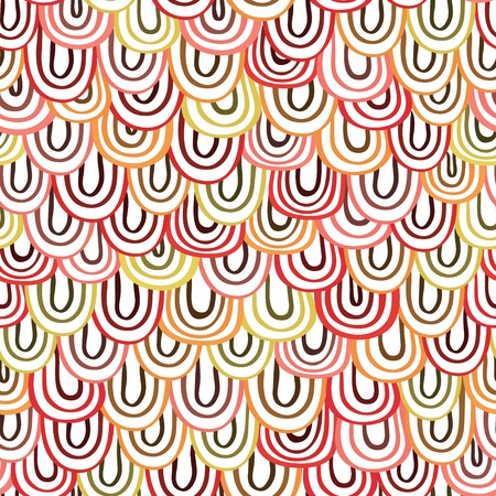 Abstract doodles background  Endless pattern  Illustration